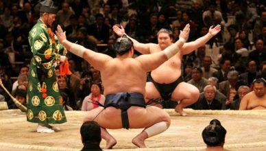 cinco mejores peleas de Sumo